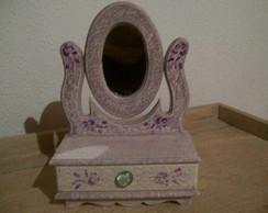 Porta Joias - Penteadeira com espelho