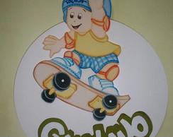 Porta maternidade - Menino Skate