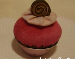 Cupcake Morango & tubete misto Ref 010