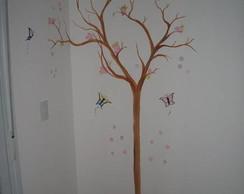 Arvore seca - Pintura artistica