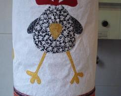 Capa de gal�o d'�gua galinhas