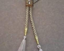 porta guardanapo com cristal e cord�o