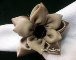 porta guardanapo flor de fuxico