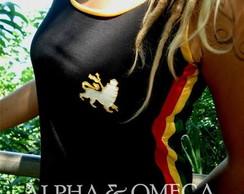 Camiseta Regata Reggae Artesanal 04