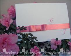 Convite Casamento - Giovanna&Ton