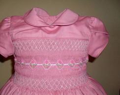 Lindo vestido fust�o rosa