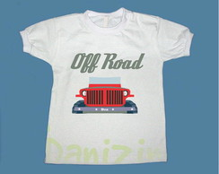 "T-Shirt Beb� e Infantil ""OFF ROAD II"""
