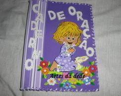 Caderno Menina Orando