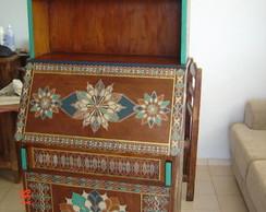 Escrivaninha antiga, reciclada