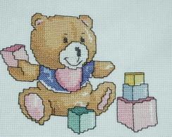 Urso com dados