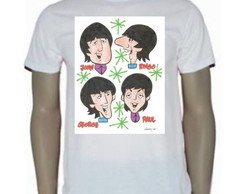 Camiseta The Beatles Cartoon The Heads