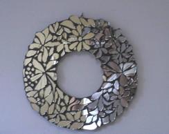 Guirlanda de espelho em mosaico