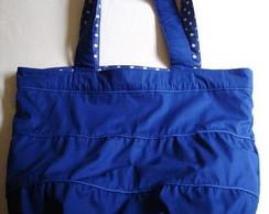 Bolsa C�te d'Azur (Azul & pois)