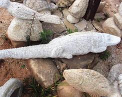Escultura Jacar�