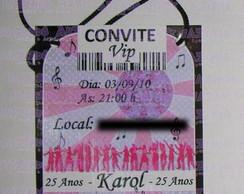 Convite credencial