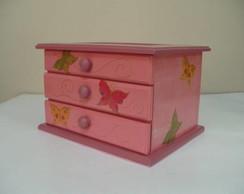 Caixa de bijuteria - Gaveteiro