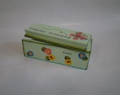 Caixa de Giz/Apagador - Modelo Bilingue