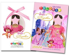 Revista para Barbie e as tr�s Mosqueteir