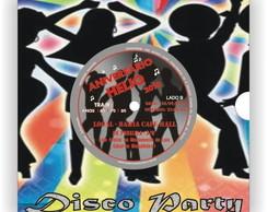 Convite Disco de Vinil | Gr�fica Sanches