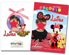 Revista Colorindo Com Minnie