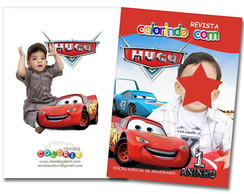 Revista Colorindo Com Carros