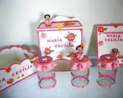 Kit Infantil Menina Rosa