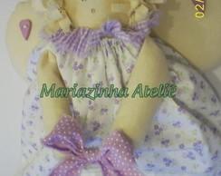 Anjo florzinha lil�s