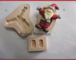 556 S� MOLDE PAPAI NOEL HAPPY
