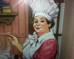 Arte Francesa - Cozinheira