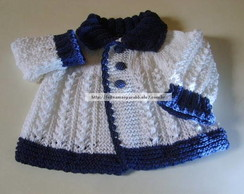 Casaquinho baby cotton