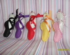 chaveiro sapatilha