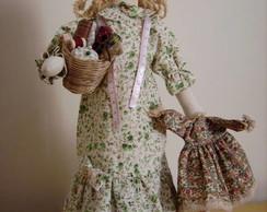 Boneca Nanci Costureira