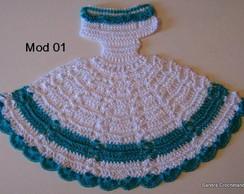Gr�fico do vestidinho em croch� Mod� 01
