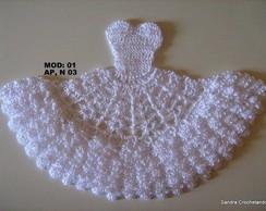 Gr�fico do vestidinho em croch� 01(Ap 3)