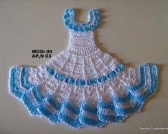 Gr�fico do vestidinho em croch� 05(AP 3)
