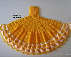 Gr�fico vestido-saia em croch� 09(AP 3)
