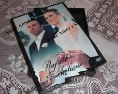 Caixa para DVD Casamento Foto Livro