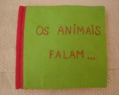 """Livro """"Os animais falam..."""""""