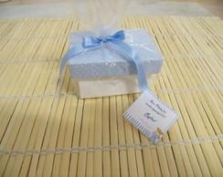Mini caixa com Mini Sabonete ou tercinho