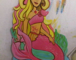 Display Barbie Sereia