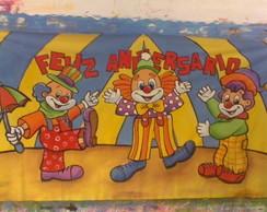 Painel Circo palha�os 3