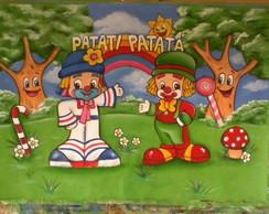 Painel Circo Patati Patat�