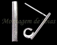 BR040 - Brinco Pino Barrinha 1,5cm