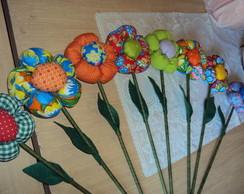 Flores de tecido - G
