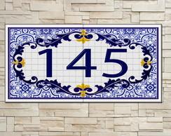 Casa elo7 for Azulejo numero casa
