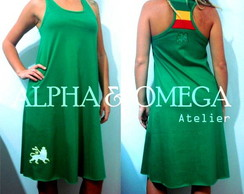 Vestido Reggae Natty VERDE(ref.VS 01-10)