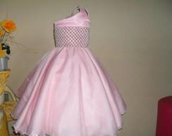 Belissimo vestido de organza