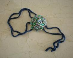 colar de croch�