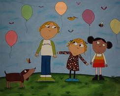 Painel Charlie e Lola 3