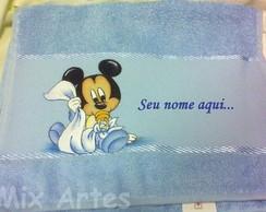 """Toalha m�o infantil """"Baby Disney"""""""